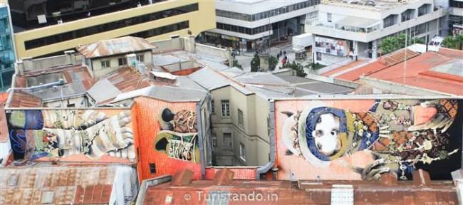 Arte na Rua Valparaiso Chile Turistando.in 06 650x288 Bate e Volta de Santiago: Arte de rua em Valparaiso