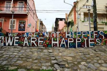 Arte na Rua Valparaiso Chile Turistando.in 10 376x250 Bate e Volta de Santiago: Arte de rua em Valparaiso