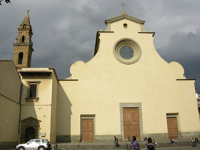 640px Facciata di santo spirito 01 As igrejas de Florença que você tem que conhecer