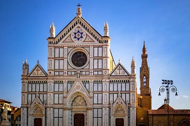 igrejas de Florença Santa Croce As igrejas de Florença que você tem que conhecer