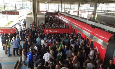 1200px Inauguração da Linha 13 na Estação Engenheiro Goulart 400x241 Como pegar o trem para o Aeroporto de Guarulhos (opção até o Brás)
