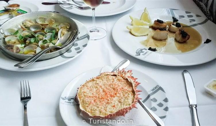 Delícias da gastronomia portuguesa
