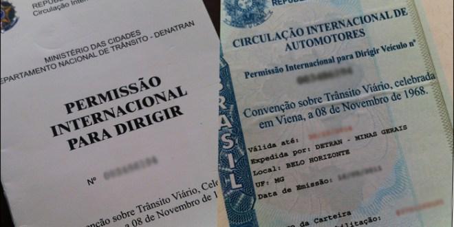 Dirigindo em outros países com CNH & PID