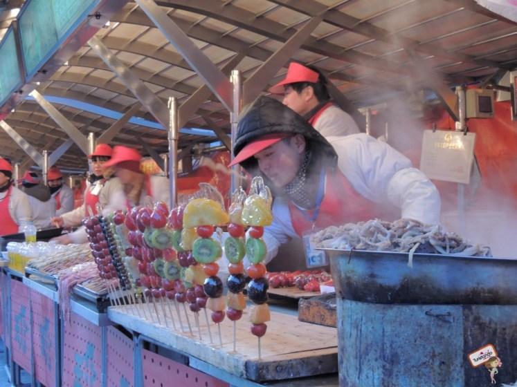 comidas exóticas da china