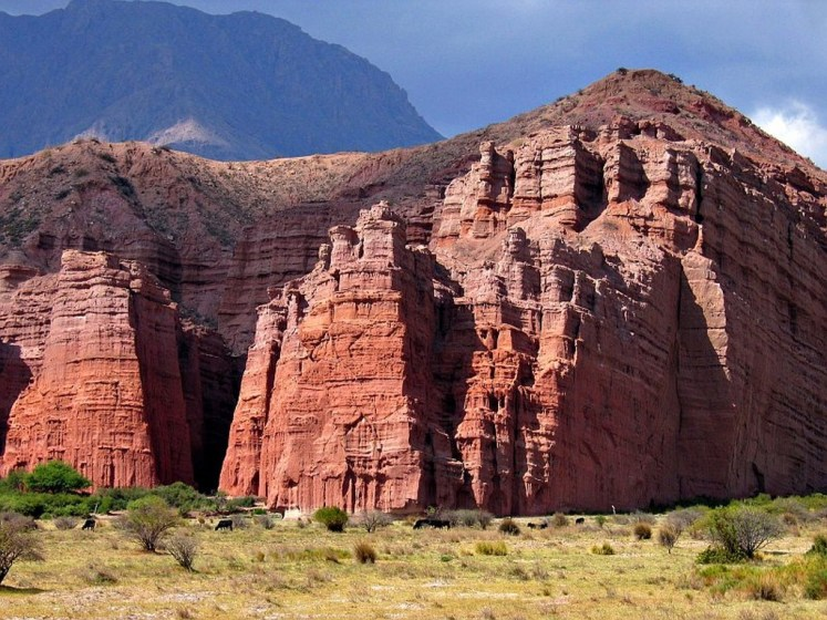Quebrada de Las Conchas Cafayate FONTE pbase.com