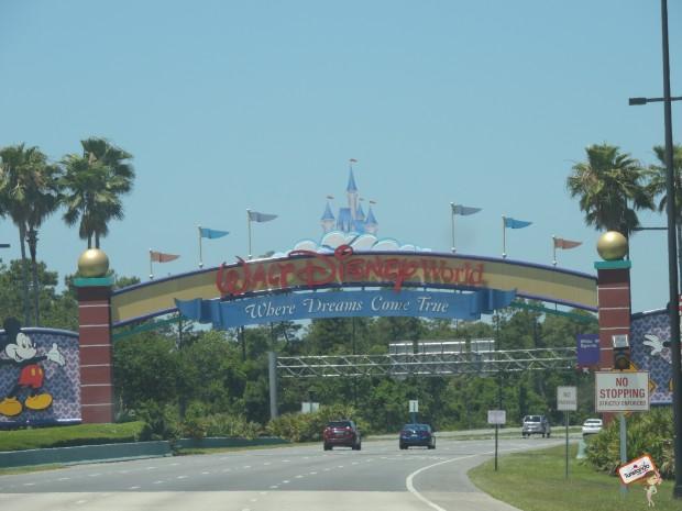 Chegando a Disney!! Uma emoção deliciosa!!!