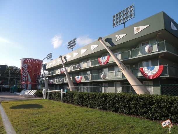 Mais um bloco de quartos do All Stars Sports