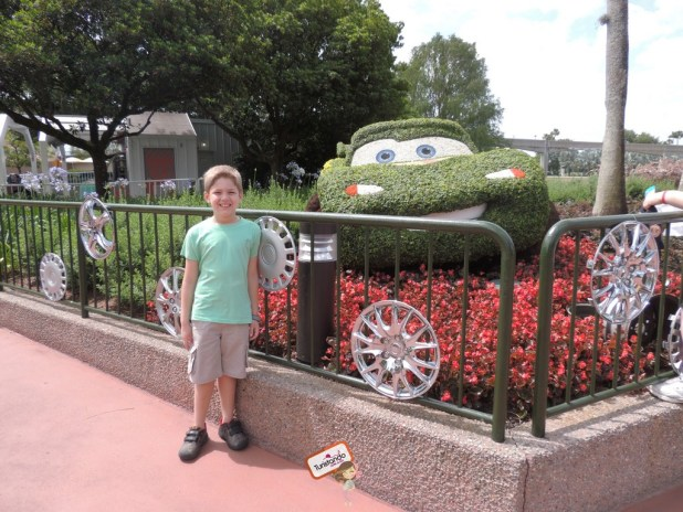 EPCOT Flower Garden
