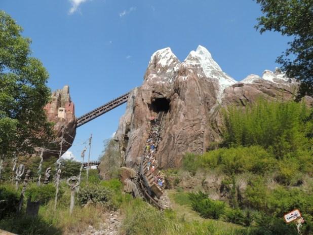 Montanha russa Everest