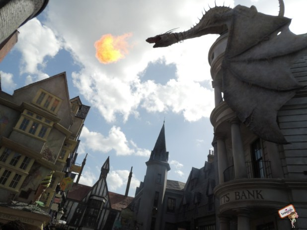 Dentro da Dragon Alley do Harry Potter
