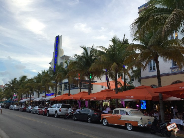 Caminhando pelas ruas de South Beach
