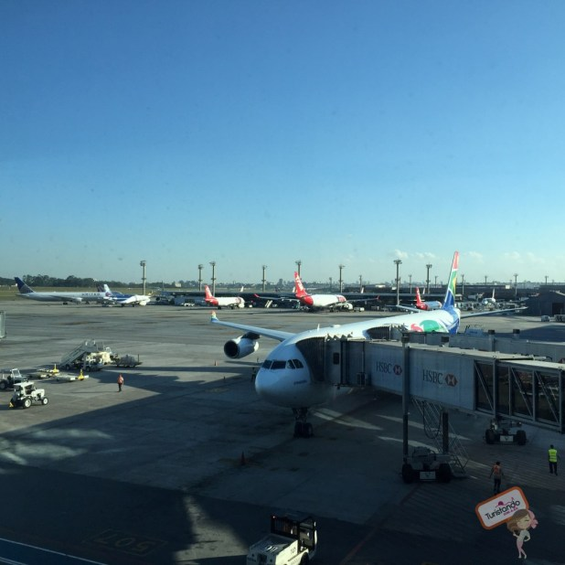 Clássica fotinho do avião :)