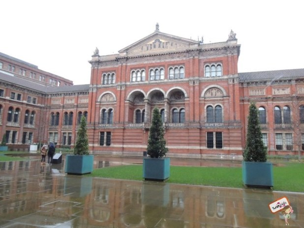 Por dentro do Victoria and Albert Museum