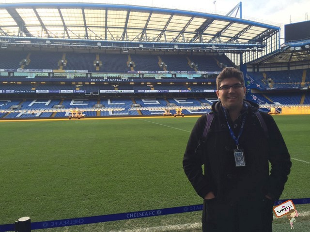 Visita ao Stamford Bridge - Estádio do Chelsea