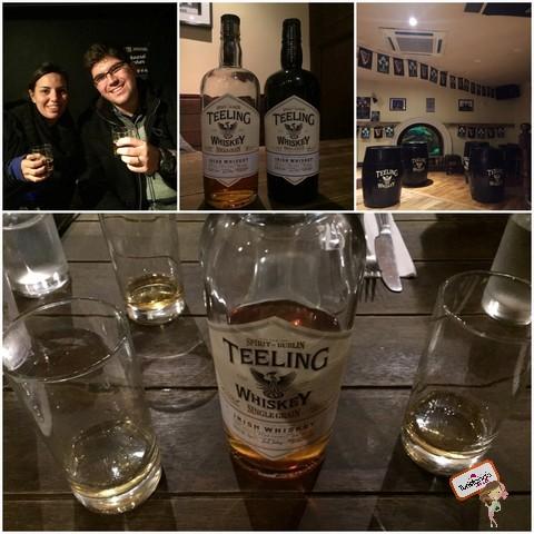 Beer and Whisky Tour em Dublin - recomendado!