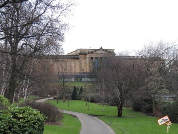 Galeria Nacional da Escócia mais de pertinho