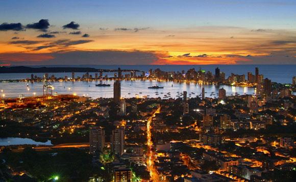 cartagena-das-indias-colombia-sunset