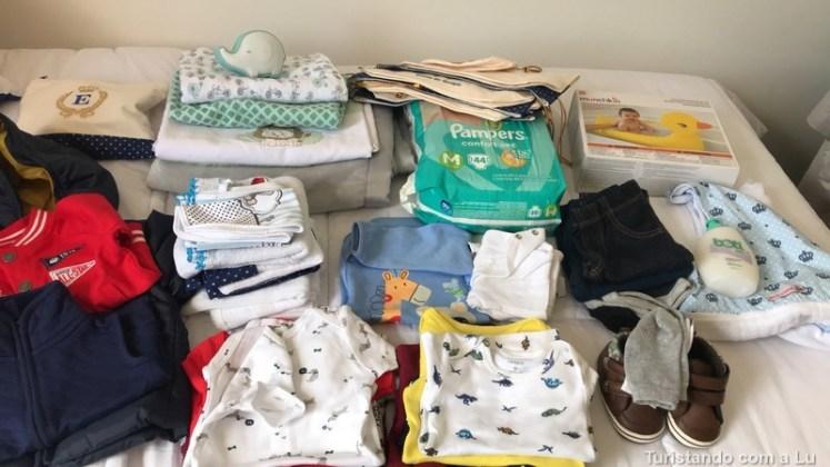mala de viagem para bebês