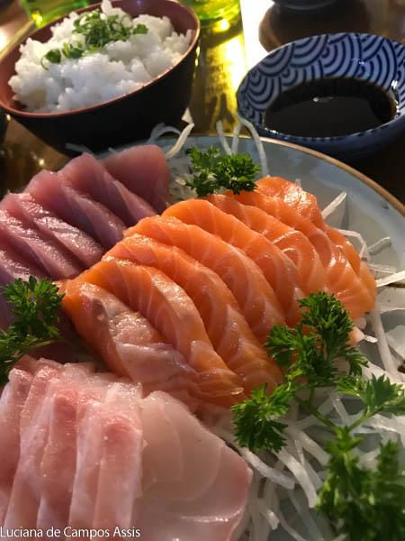 sushi e sashimi em são paulo
