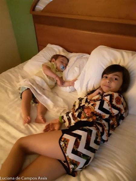 orlando com bebês