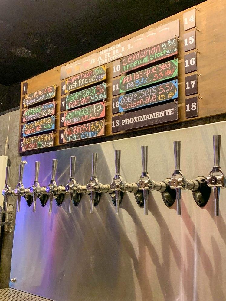 cervejas locais em cartage