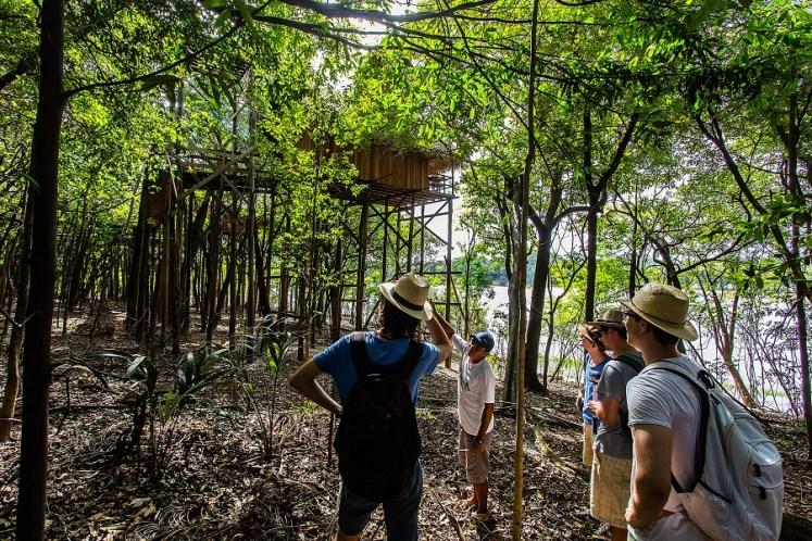 hotel na floresta amazônica