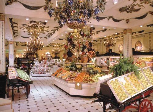 Hall de frutas y verduras