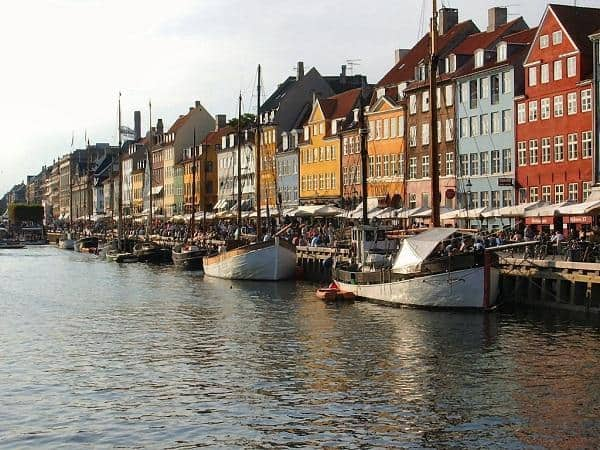 Nyhavn, Copenhague, Dinamarca