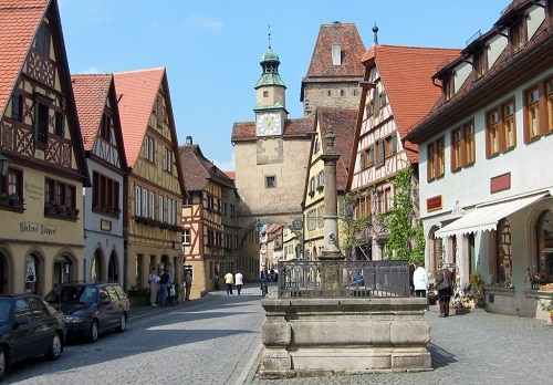 ruta romántica de Alemania2