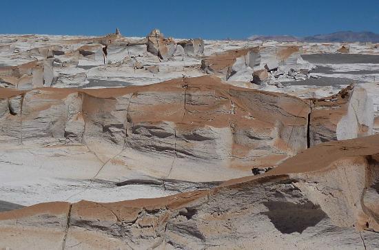 Vista del Campo de Piedra Pomez, a 35kmde Antofagasta de la Sierra. Solo para 4x4
