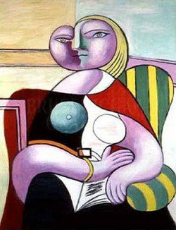 Pablo-Picasso-mujer-leyendo