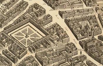 La Place Royale, la primera plaza planificada de una ciudad.
