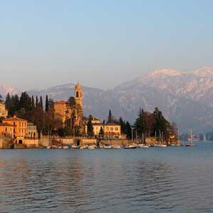 Localidad de Laglio en el Lago de Como