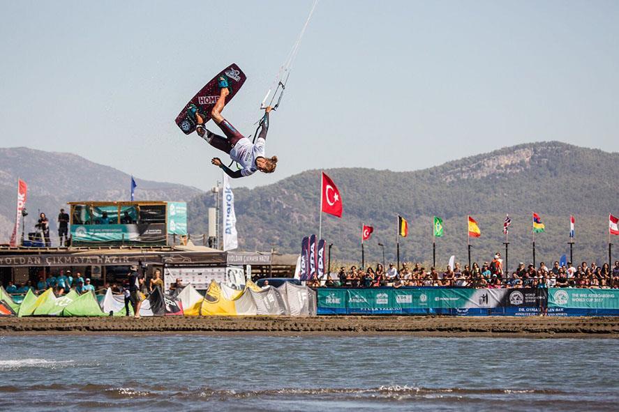 Turkey Home, Dünya Kiteboard Şampiyonası'nın Sponsoru
