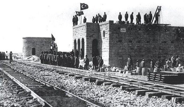 سكة حديد الحجاز- الشام