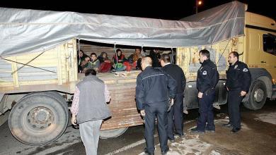 Photo of تركيا تضبط 19 لاجئا أثناء محاولتهم عبور الحدود نحو أوروبا
