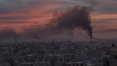 Photo of بدء الضربة العسكرية الأمريكية على سوريا