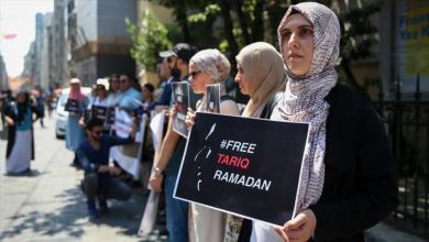 Photo of إسطنبول.. وقفة تطالب بإطلاق مفكر إسلامي من سجون فرنسا