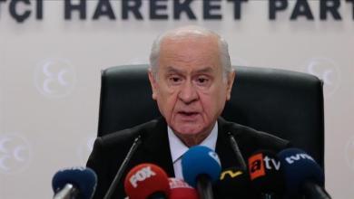 Photo of زعيم الحركة القومية التركي:  يأمر حزبه بتحويل موجوداته من العملة الصعبة إلى الليرة التركية