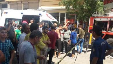 "Photo of إصابة 20 شخصاً علقوا داخل "" فرن سوري "" اندلع فيه حريق"
