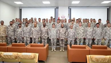 Photo of 99 عسكريا تركيا بقطر ينهون تعلّم اللغة العربية