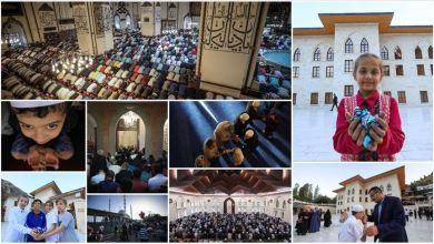Photo of صلاة العيد في إسطنبول.. مشهد تلاحم وإخاء