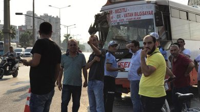Photo of شاهد .. حادث تصام حافلتين في مرسين و إصابات عديدة بعضها خطيرة