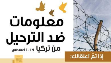 Photo of معلومات تفيد السوريين لتجنب الترحيل من تركيا