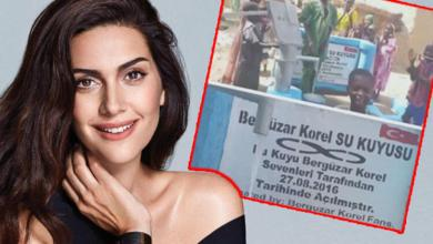 Photo of بالصور .. هدية إنسانية من فانز النجمة التركية بيرجوزار كوريل باسم مولودها الجديد