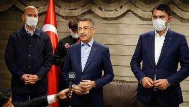 "Photo of مسؤولون أتراك يزورون منطقة زلزال ""بينغول"""