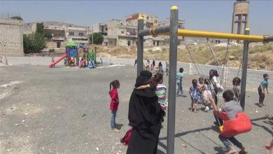 Photo of جمعية تركية تنشئ حديقة ألعاب للأطفال في إدلب السورية