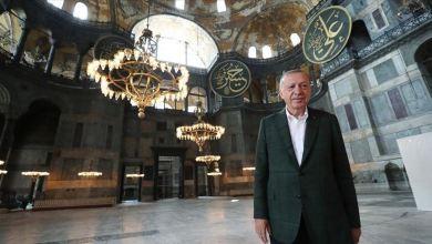 Photo of للمرة الثانية في 4 أيام.. أردوغان يتفقد آيا صوفيا