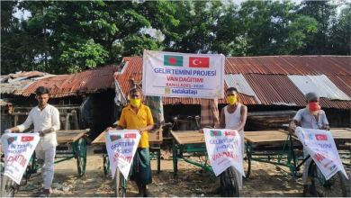 "Photo of ""توفير الدخل"".. مشروع تركي لدعم لاجئي أراكان ببنغلاديش"