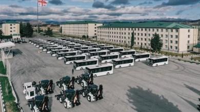 Photo of تركيا تدعم جورجيا بحافلات ومعدات عسكرية